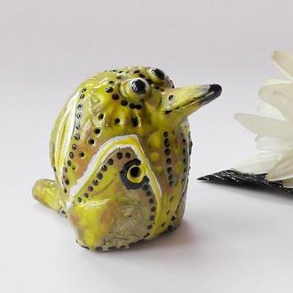 Птичка Керамическая свистулька