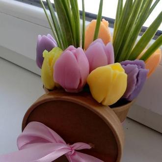 Букет мильних квітів