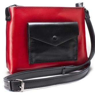 Женская сумка Art Pelle Bossy красная (Kaiser)