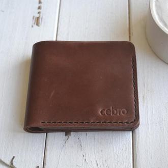 Гаманець на 3 карти та монетницю