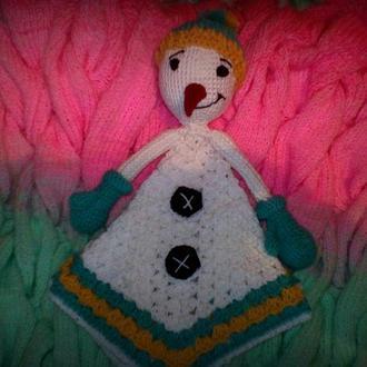 комфортер снеговик