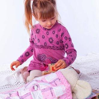 Постель для кукол Хелло Китти с кружевом Подарок для девочки Подарок на день рождения