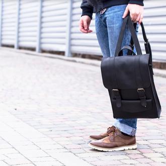 Молодежный кожаный рюкзак, рюкзаки для парней, рюкзаки цветные кожаные, украинские рюкзаки