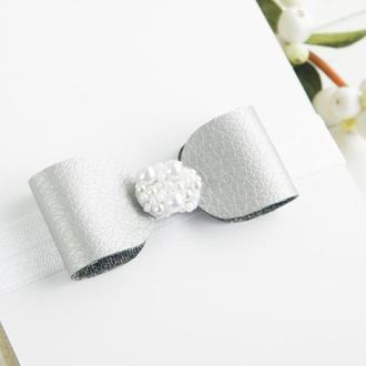 Бантик на повязке для девочки, Красивая повязка для малышки день рождения