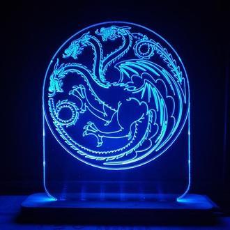 Ночник Светильник Игры Престолов Game of Thrones