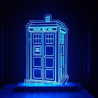 Ночник Светильник Доктор Кто Тардис Doctor Who Tardis