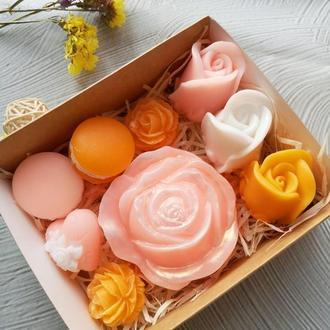 """Набор мыла """"Нежные розы"""""""