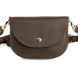 Waist bag Mira brown (артикул: wb014)