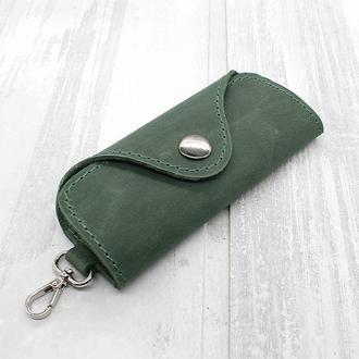 Ключница для 4 ключей зеленая keys