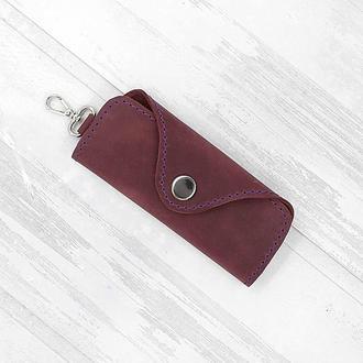 Ключница для 4 ключей фиолетовая keys