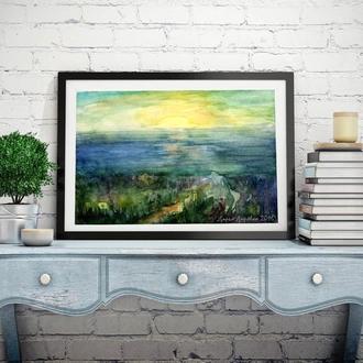 Картина море Картина Морские пейзажи Картина маслом море Картины на стену Картины с морем