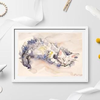 Картины кошек Картины с кошками Картины с котами Картины с котятами Картины для дома Картина по фото