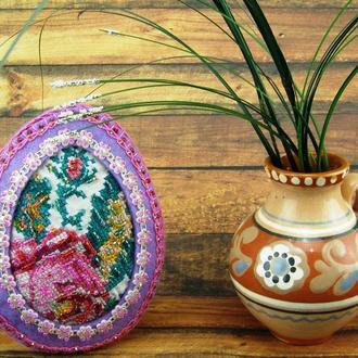 Пасхальный декор Винтажное яйцо
