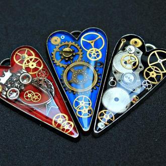 Кулон ′Механическое сердце′