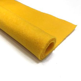 Фетр темно-желтый 1.3 мм 20*30 см | № 00978