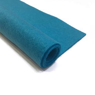 Фетр голубой 1.3 мм 20*30 см | № 00969
