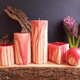 Свечи парафиновые декоративные. Набор