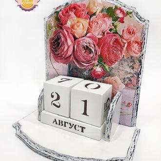 Вечный календарь Пионовидная роза