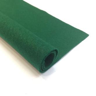 Фетр зеленый 1.3 мм 20*30 см | № 00975