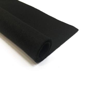 Фетр черный 1.3 мм 20*30 см | № 00957