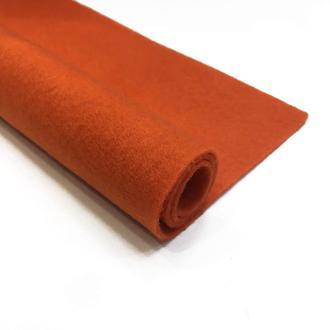 Фетр оранжевый 1.3 мм 20*30 см | № 00977