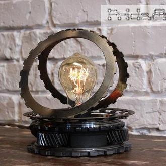 """Industrial Table Lamp """"Pride&Joy"""" (настольная лампа)"""