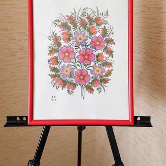 Картина Первоцветы