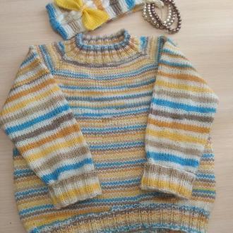 свитер для девочки 1,5--2--2,5 года