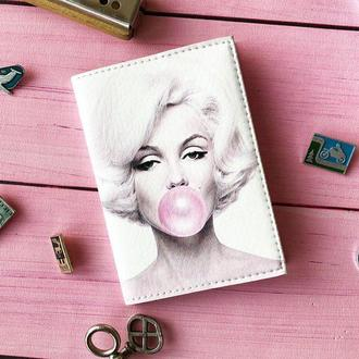 Обкладинка на паспорт, паспортна обкладинка Мерилін Монро