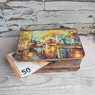 """Скринька книжка """"Осіннє місто"""""""
