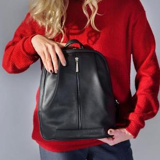 Monik Leather Backpack black (артикул: w062.4)