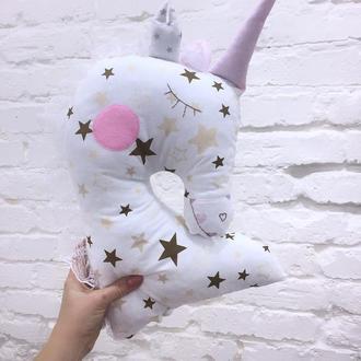 игрушки обнимашки единорог подушка игрушка для сна подарок девочки игрушка сплюшка подарки для детей