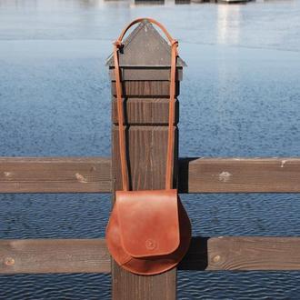 Кожаная сумка коньячного цвета (10 цветов), женская кожаная сумка, сумка для женщин, женская сумка