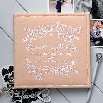 Класичний фотоальбом, Семейный фотоальбом, Фотоальбом для девушки, Річниця весілля
