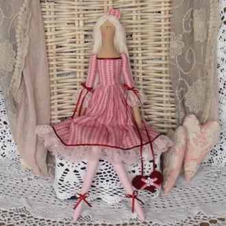 Кукла в стиле Тильда Розалинда 48смм ВНИМАНИЕ БОНУС !!!