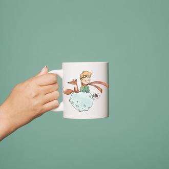 """Чашка с принтом """"Маленький принц"""""""