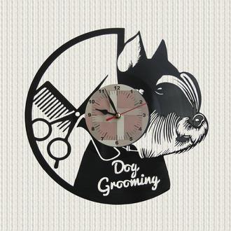 часы маленькая собачка Йорк dog grooming