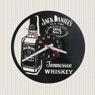 часы настенные виски Джек Дениелс  Jack Daniels whiskey