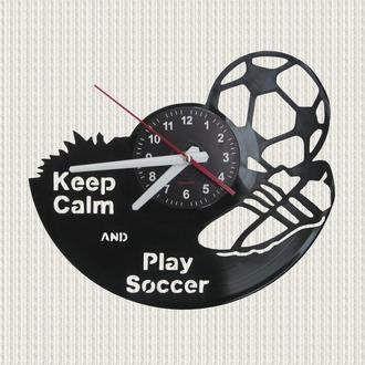 часы настенные футбол и футбольные аксессуары football accessories