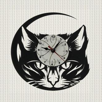 часы настенные мой кот my cat