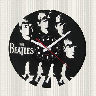 часы настенные Битлы  The beatles