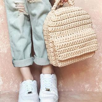 """Рюкзак """"Basic"""" из трикотажной пряжи"""