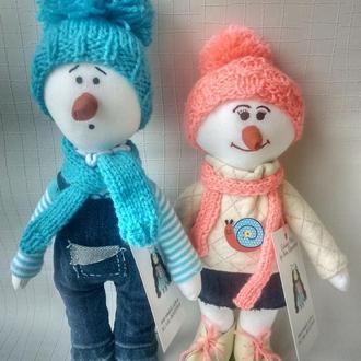 Интерьерные куклы семья Сненовики
