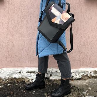 Рюкзак «Geometric black »