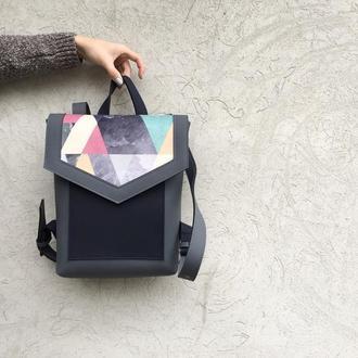 Рюкзак «Geometric gray»