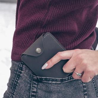 """Кожаный складной кошелек Elbi """"Mini-2"""""""