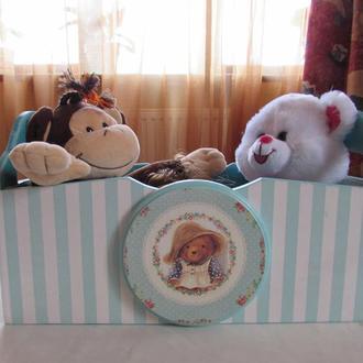 Ящик для детских игрушек,книжек,мелочевки