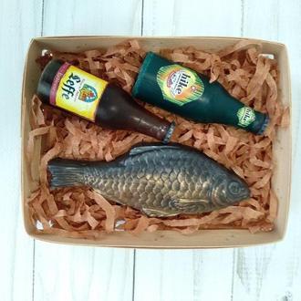 """Сувенирное мыло набор """" Пиво с таранькой"""""""