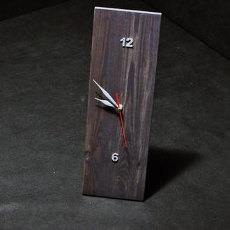 """Часы """" Loft 1.0 """" Часы из дерева  ,  настольные часы , отличный подарок по любому поводу"""