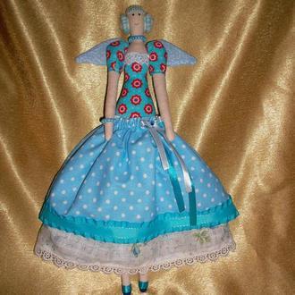 Кукла Тильда-ангел